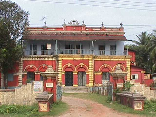 Ananda Ashram - now Govt. residential house
