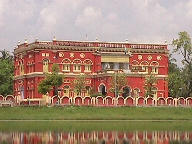 View of DM Office from 'Sagar Dighi'